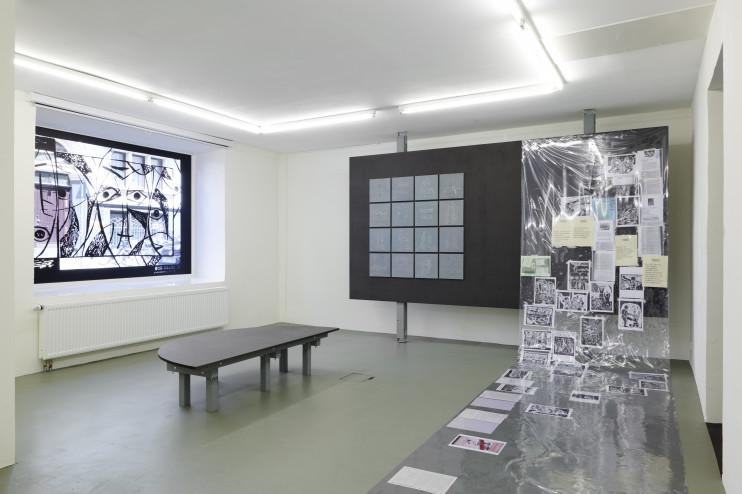 Installationsansicht, Gwangju Lessons
