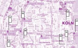 Index der Kunstinitiativen Kölns 2017/2018